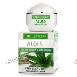 BIELENDA Aloes, Bezzapachowy krem regenerująco-ochronny na dzień i na noc, 50 ml