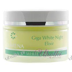 CLARENA Giga White Night Eliksir, Wybielający eliksir na noc, 50 ml