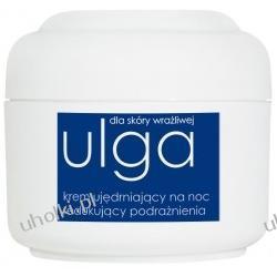 ZIAJA Ulga, Krem regenerujący do cery wrażliwej na noc wzmacniający naczynka krwionośne, 50 ml