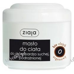 ZIAJA Bio Olejki, Masło do ciała z olejkiem arganowym do skóry bardzo suchej i podrażnionej, 200 ml