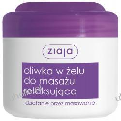 ZIAJA Oliwki do Masażu, Oliwka w żelu do masażu ciała relaksująca, 180 ml