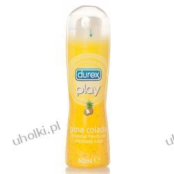 DUREX Play Pina Colada, Nawilżający żel intymny o egzotycznym zapachu Pina Colada, 50 ml