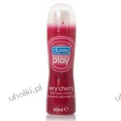 DUREX Play Very Cherry, Nawilżający żel intymny o zapachu słodkiej wiśni, 50 ml