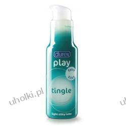 DUREX Play Tingle, Bezzapachowy żel intymny uwalniający dreszczyk emocji, 50 ml