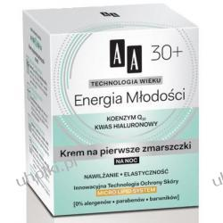 AA Technologia Wieku 30+, Energia Młodości Krem na pierwsze zmarszczki na noc, 50 ml