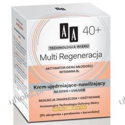 AA Technologia Wieku 40+, Multi Regeneracja Krem ujędrniająco - nawilżający na dzień, 50 ml