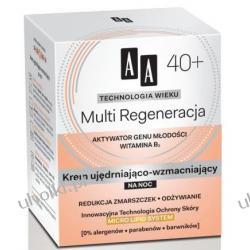 AA Technologia Wieku 40+, Multi Regeneracja Krem ujędrniająco - wzmacniający na noc, 50 ml