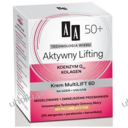 AA Technologia Wieku 50+, Aktywny Lifting Krem Mulitilift 6D na dzień, 50 ml