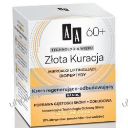 AA Technologia Wieku 60+, Złota Kuracja Krem regenerująco - odbudowujący na noc, 50 ml