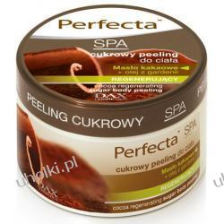DAX Perfecta SPA, Cukrowy peeling do ciała złuszczająco - regenerujący KAKAOWY, 225 ml