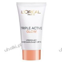 L`Oreal Triple Active Glow, Upiększający krem nawilżający SPF15, 50 ml