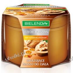 BIELENDA Orzech & Bursztyn, Brązujące masło do ciała, 200 ml
