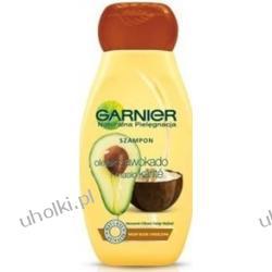 GARNIER Naturalna Pielęgnacja, Szampon do włosów z awokado i karite, włosy zniszczone, 250 ml