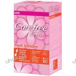CAREFREE Breeze Fresh Blossom, Wkładki higieniczne o zapachu świeżych kwiatów, 60 szt