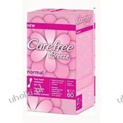 CAREFREE Breeze Normal, Wkładki higieniczne bezzapachowe, 60 szt