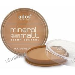 ADOS Mineral Matt Powder, Mineralny, prasowany puder matujący, 12g