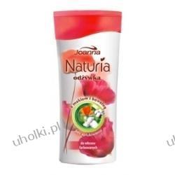 JOANNA Naturia Mak i Bawełna, Odżywka bez spłukiwania do włosów farbowanych, 200 ml