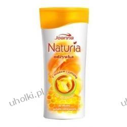 JOANNA Naturia Miód i Cytryna, Odżywka bez spłukiwania do włosów suchych i zniszczonych, 200 ml