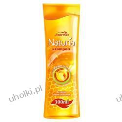 JOANNA Naturia Miód i Cytryna, Szampon do włosów suchych i zniszczonych, 300 ml