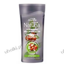 JOANNA Naturia Men, Szampon z guaraną dla mężczyzn do każdego rodzaju włosów, 200 ml