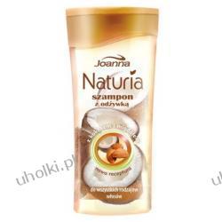 JOANNA Naturia Kokos i Migdał, Szampon z odżywką do każdego rodzaju włosów, 200 ml