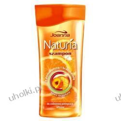 JOANNA Naturia Pomarańcza i Brzoskwinia, Szampon do każdego rodzaju włosów, 200 ml