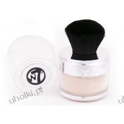W7 Mineral Loose Powder, Sypki puder mineralny z pędzlem Kabuki, 3,5g