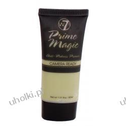 W7 Prime Anti-Redness Primer, Korygująca baza pod makijaż, cera naczynkowa, z rumieniem, 30 ml
