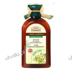 GREEN PHARMACY, Balsam z cynkiem i dziegciem brzozowym, włosy z łupieżem, 300 ml