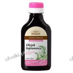 GREEN PHARMACY, Olejek łopianowy ze skrzypem polnym przeciw wypadaniu włosow, 100 ml