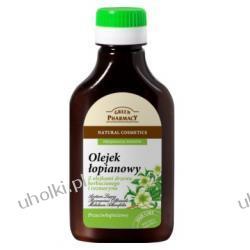 GREEN PHARMACY, Przeciwłupieżowy olejek łopianowy z olejkami z drzewa herbacianego i rozmarynu, 100 ml