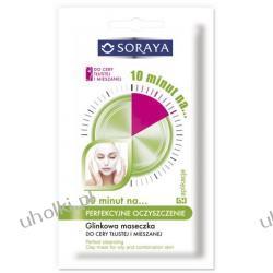 SORAYA Maseczki 10 minut na..., Perfekcyjne oczyszczenie - glinkowa maseczka do cery tlustej i mieszanej, 2x5 ml