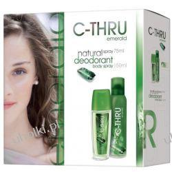 C-THRU Emerald Zestaw, Dezodorant perfumowany + dezodorant spray