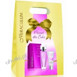 MIRACULUM Women Collection, Damska woda perfumowana Rose + baza pod makijaż