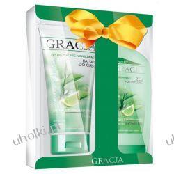 GRACJA Zielona Herbata, Balsam do ciała + żel pod prysznic w świątecznym zestawie