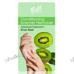 BELL Aromatherapy Kiwi Nail, Bezacetonowy zmywacz do kruchych i osłabionych paznokci, 100 ml