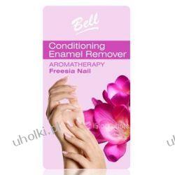 BELL Aromatherapy Freesia Nail, Bezacetonowy zmywacz do kruchych i osłabionych paznokci, 100 ml