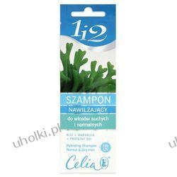 CELIA 1i2, Szampon nawilżający do włosów suchych i normalnych, 10 ml
