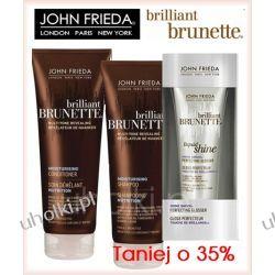 JOHN FRIEDA Brillant Brunette, Zestaw kosmetyków do włosów ciemnych, matowych, 1 kpl