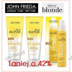 JOHN FRIEDA Sheer Blonde, Zestaw kosmetyków do włosów blond, rozjaśnianych i z pasemkami, 1 kpl