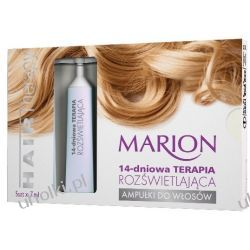 MARION Hair Therapy, Ampułki do włosów Terapia Rozświetlająca, 5 x 7 ml