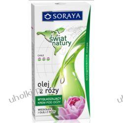 SORAYA Świat Natury, Wygładzający krem pod oczy Wiesiołek i Olej z róży, 15 ml