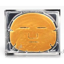 CLARENA Golden Vit C Mask, Złota proteinowa maska z witaminą C, 1 płat