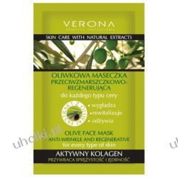 VERONA Olive, Oliwkowa maseczka przeciwzmarszczkowo - regenerująca, 10 ml