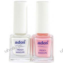 ADOS, Lakier do French Manicure, zestaw 2 x 8 ml