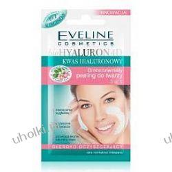 EVELINE BioHyaluron 4D, Oczyszczający peeling drobnoziarnisty do twarzy 3w1, 7 ml