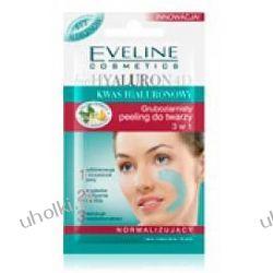 EVELINE BioHyaluron 4D, Normalizujący peeling gruboziarnisty do twarzy 3w1, 7 ml