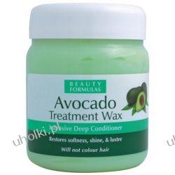 BEAUTY FORMULAS Wax Awokado, Wosk do włosów głęboko odżywiający, włosy zniszczone, matowe, 500 ml