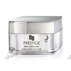 AA Prestige Pro-Capilary, Wzmacniający naczynka krem na noc, cera naczyniowa, 50 ml