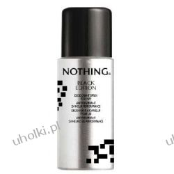 GOSH Nothing Black Edition Deo, Męski dezodorant perfumowany, 150 ml
